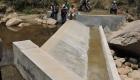 Barrage à Manandona